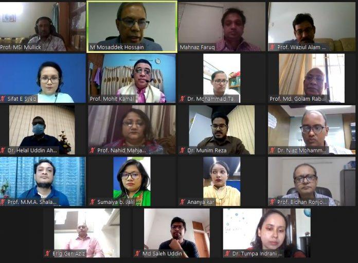 বাংলাদেশ অ্যাসোসিয়েশন ফর চাইল্ড অ্যান্ড অ্যাডোলেসেন্ট মেন্টাল হেলথ (BACAMH) এর বার্ষিক সাধারন সভা অনুষ্ঠিত